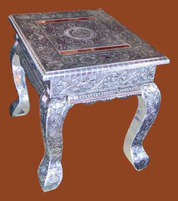 Attractive Oxodize Sitting Table