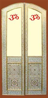 Decorative Minakari Doors