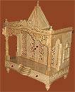 Beautifully Carved Savan Wood Temple