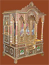 Beautifully Designed Brass Mina Haveli
