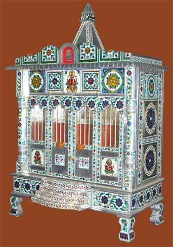 Shubh Labh Alluminium Minakari Temple