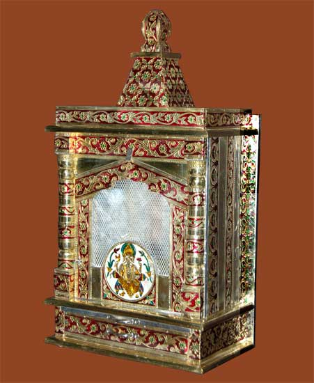 Brass Mina Handicrafts Temple Are One Of The Highly