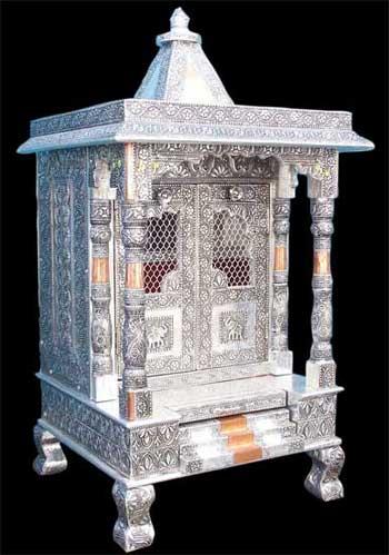 2 Doors Sculpture Oxodize Temple